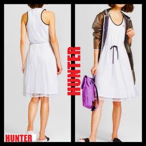 Hunter Soft Fishnet White Dress NWT $35 Medium